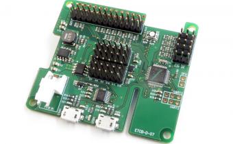 ETCB/Raspberry Pi daughter board